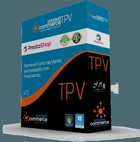 InnovaCommerce TPV: Terminal punto de venta para tienda física integrada con PrestaShop