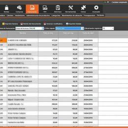 InnovaCommerce ERP - Sección de facturación