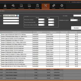 InnovaCommerce ERP - Sección de herramientas - cambios masivos